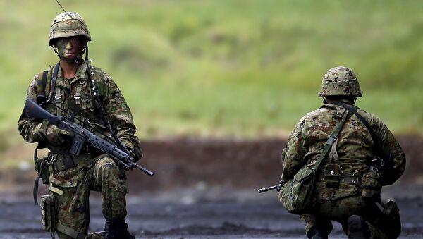 Militares japoneses - Sputnik Mundo