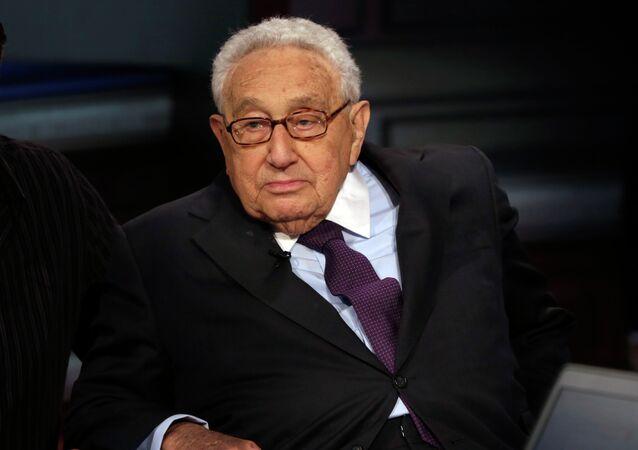 Henry Kissinger, exsecretario de Estado de EEUU