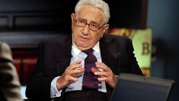 Henry Kissinger, exsecretario de Estado de EEUU - Sputnik Mundo