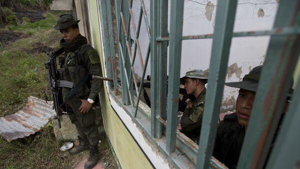 Policías colombianos - Sputnik Mundo
