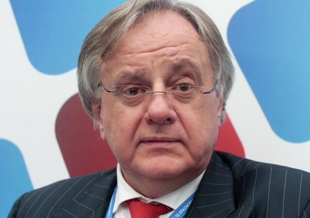 Andréi Bugrov, vicepresidente de la compañía Norilsk Nickel