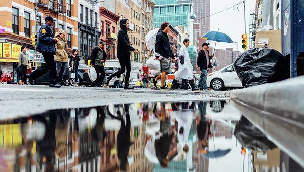 Gente en las calles de Nueva York - Sputnik Mundo