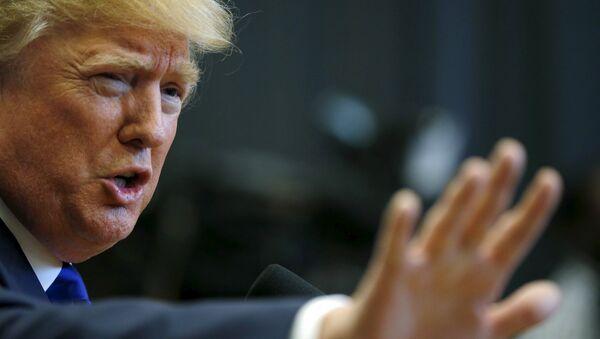 Donald Trump, candidato a la presidencia de EEUU - Sputnik Mundo