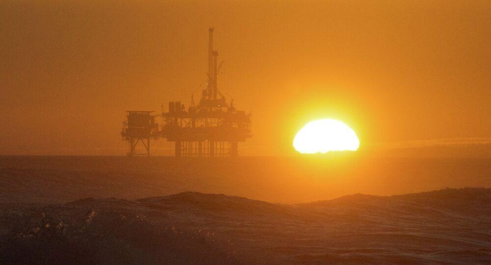 Plataforma petrolífera