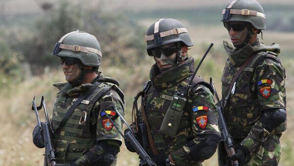 Soldados rumanos - Sputnik Mundo