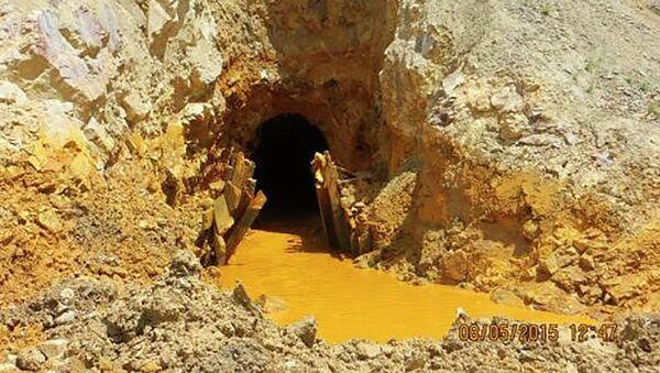 La mina King Gold en Colorado - Sputnik Mundo