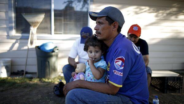 Inmigrantes latinoamericanos en EEUU - Sputnik Mundo