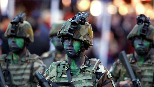 Soldados paraguayos en un desfile (archivo) - Sputnik Mundo