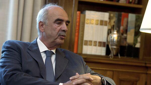 Vangelis Meimarakis, líder del partido conservador griego Nueva Democracia - Sputnik Mundo