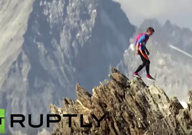 El corredor de los Alpes