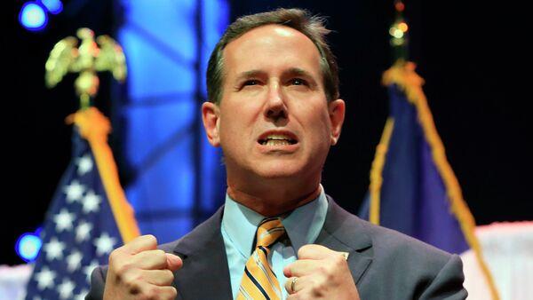 Rick Santorum, candidato a la presidencia de EEUU - Sputnik Mundo