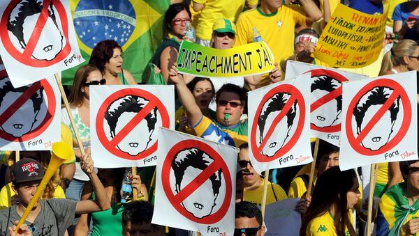 Cronología de un convulsionado proceso contra Dilma Rousseff - Sputnik Mundo