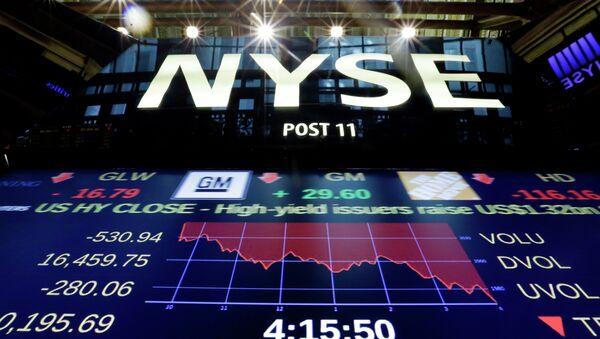 Bolsa de Nueva York - Sputnik Mundo