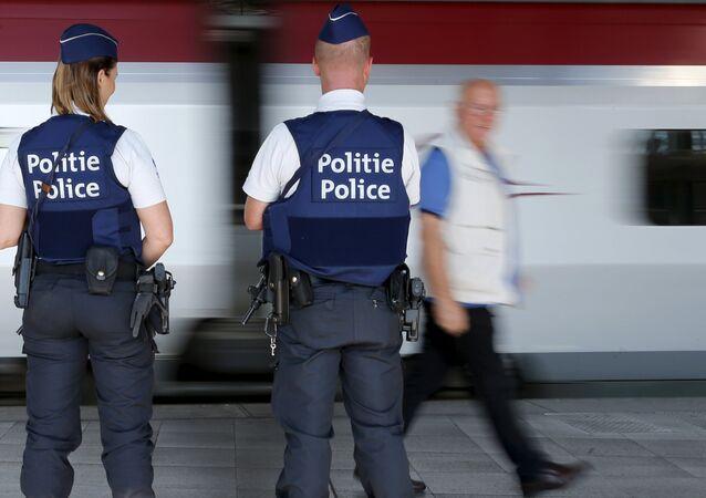 Policías belgas (archivo)