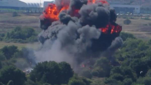 Demostración aérea en el Reino Unido acaba con siete muertos - Sputnik Mundo