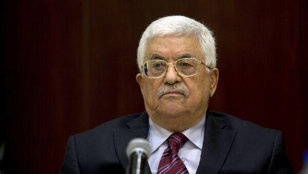 Mahmud Abás, presidente de Palestina (archivo) - Sputnik Mundo