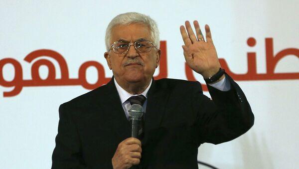 Mahmud Abás, presidente de Palestina - Sputnik Mundo