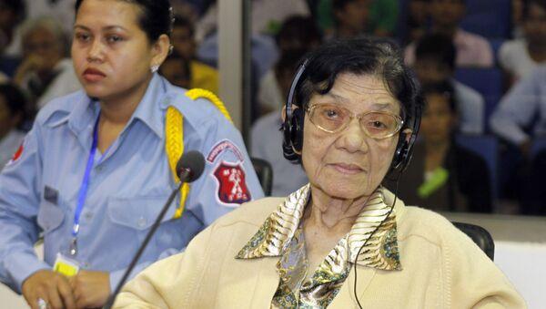 Ieng Thirith, ministra de Asuntos Sociales de Kampuchea Democrática - Sputnik Mundo