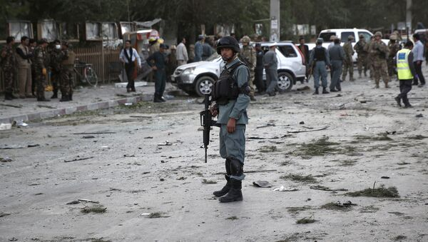 Policía afgano - Sputnik Mundo
