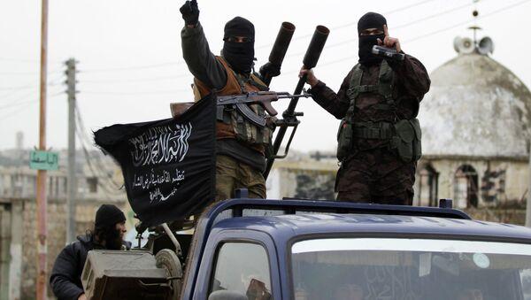 Combatientes de Al Qaeda - Sputnik Mundo