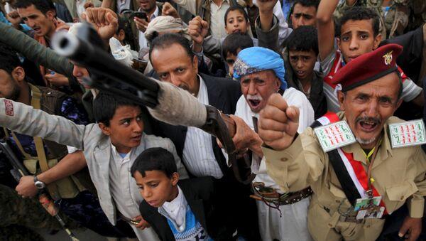 Los hutíes en Yemen - Sputnik Mundo