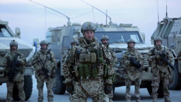 Soldados alemanes en Afganistán - Sputnik Mundo
