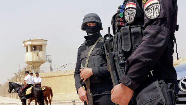 Policías egipcios - Sputnik Mundo