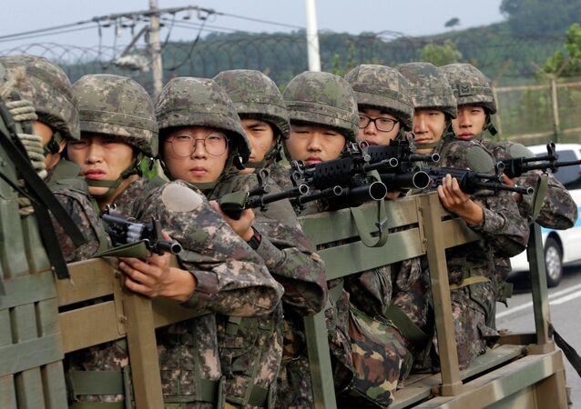 Tropas surcoreanas (archivo)