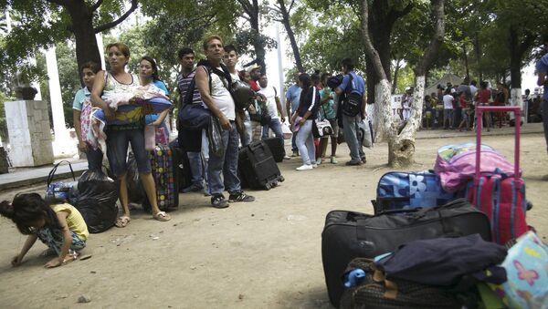 Deportación de los colombianos - Sputnik Mundo