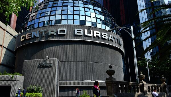 La Bolsa Mexicana de Valores (archivo) - Sputnik Mundo