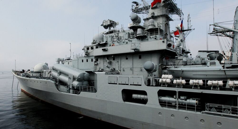 El destructor chino Taizhou