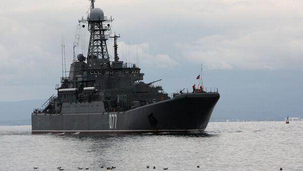 Las maniobras chino-rusas (archivo) - Sputnik Mundo