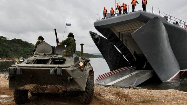 Ejercicios militares ruso-chinos Cooperación Naval 2015 - Sputnik Mundo