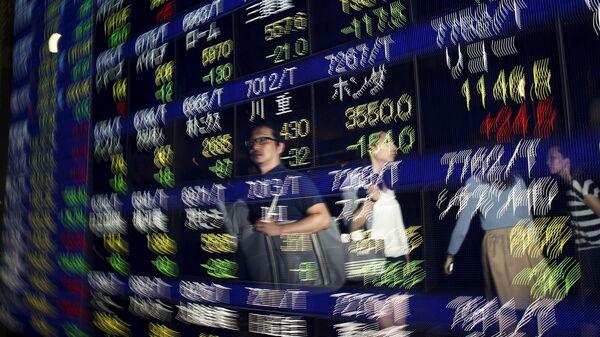 Bolsa en Tokio - Sputnik Mundo
