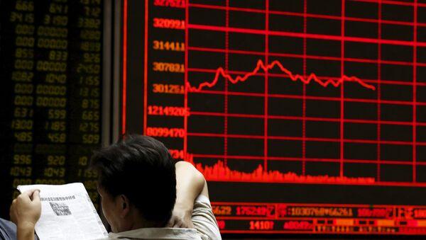 Bolsa en Pekín - Sputnik Mundo