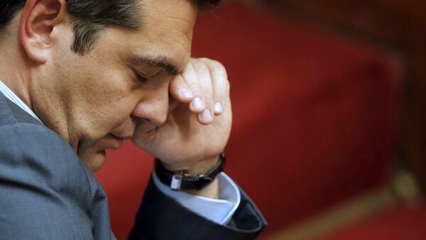 Alexis Tsipras, primer ministro de Grecia - Sputnik Mundo