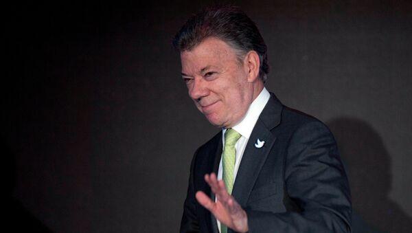 Juan Manuel Santos, presidente de Colombia, encabezará el debate público en el marco del Foro sobre Democracia de Nueva Generación - Sputnik Mundo