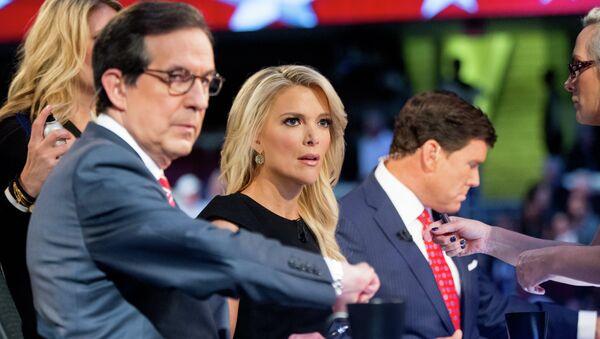 Megyn Kelly durante el debate presidencial del 6 de agosto - Sputnik Mundo