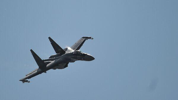 Caza Su-35S - Sputnik Mundo
