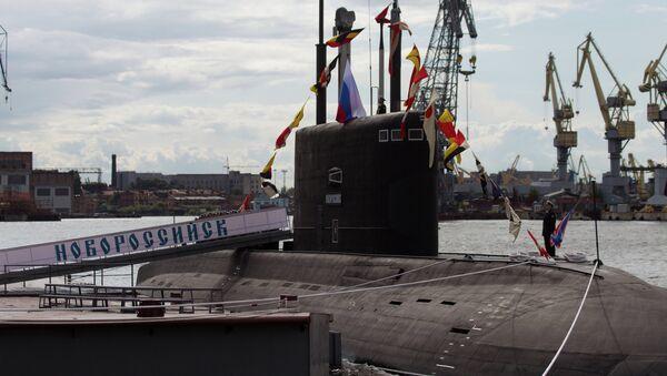 Submarino diésel-eléctrico Novorossiysk - Sputnik Mundo