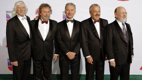Les Luthiers antes de 12ª ceremonia anual Latin Grammy Awards  en Las Vegas, Nevada - Sputnik Mundo