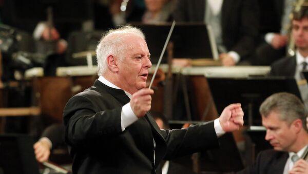 Daniel Barenboim, director musical de la orquesta de Berlín - Sputnik Mundo