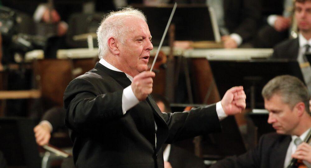 Daniel Barenboim, director musical de la orquesta de Berlín