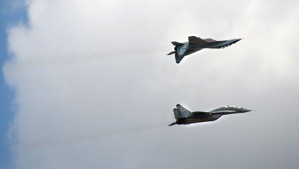Cazas MiG-29 - Sputnik Mundo