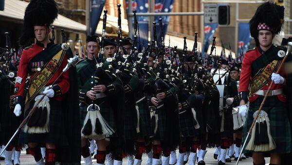 Desfile conmemorativo en honor al Anzac en Sidney, Australia - Sputnik Mundo