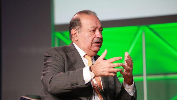 Carlos Slim, magnate mexicano - Sputnik Mundo