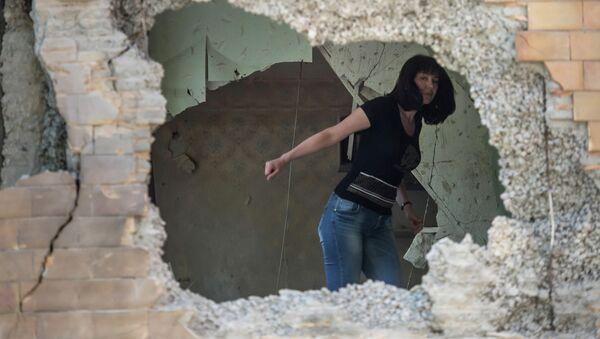 Basurin denuncia bombardeos masivos de localidades cercanas a Donetsk - Sputnik Mundo