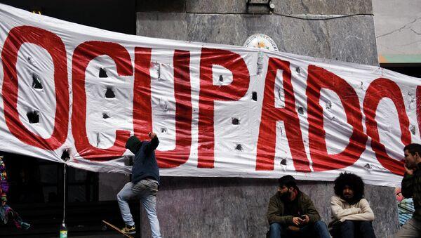 Se agudiza conflicto entre sindicatos de la educación y Gobierno de Uruguay América Latina - Sputnik Mundo