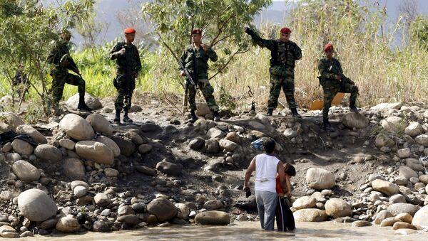 Crisis fronteriza entre Venezuela y Colombia - Sputnik Mundo