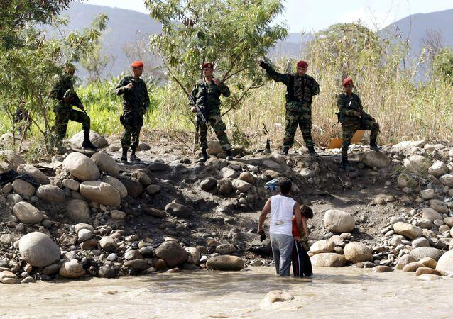 Crisis fronteriza entre Venezuela y Colombia